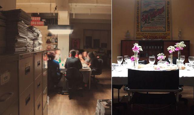 the office table d'hôtes frigos - Restos-Bars - My Little Paris