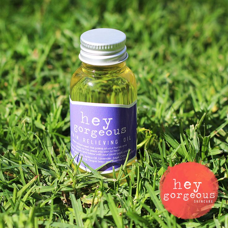 PAIN RELIEVING OIL FOR HAPPY MUSCLES. Pain relief that is 100% natural and 100% effective.