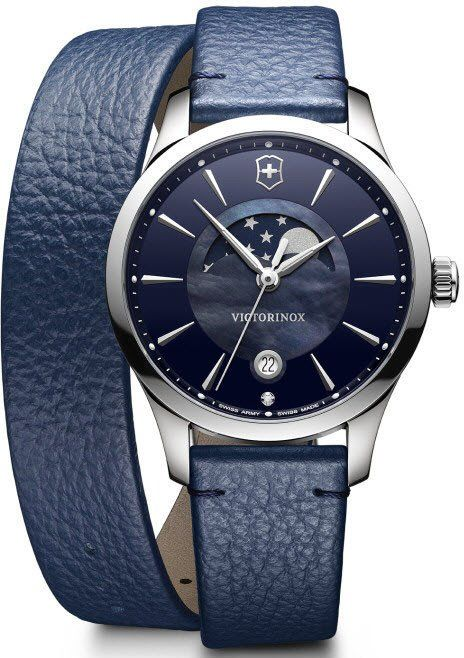 @vxswissarmy Watch Alliance #add-content #bezel-fixed #bracelet-strap-leather #brand-victorinox-swiss-army #case-material-steel #case-width-35mm #classic #date-yes #delivery-timescale-1-2-weeks #dial-colour-blue #gender-ladies #moon-phase-yes #movement-quartz-battery #new-product-yes #official-stockist-for-victorinox-swiss-army-watches #packaging-victorinox-swiss-army-watch-packaging #style-dress #subcat-alliance #supplier-model-no-241755 #warranty-victorinox-swiss-army-official-2-y...