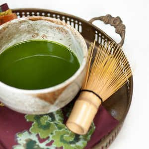 What is Matcha? | Matcha is finely ground green tea powder--incredibly rich in anti-oxidants and prized for its nutritive benefits--that has grown increasingly popular over the past 2 to 3 years. It can be dissolved in hot water to make traditional green matcha tea or served with steamed milk as a green tea latte...even Starbucks offers it. The result is a smooth, vibrant beverage unlike any other--that is, if you buy the good stuff.