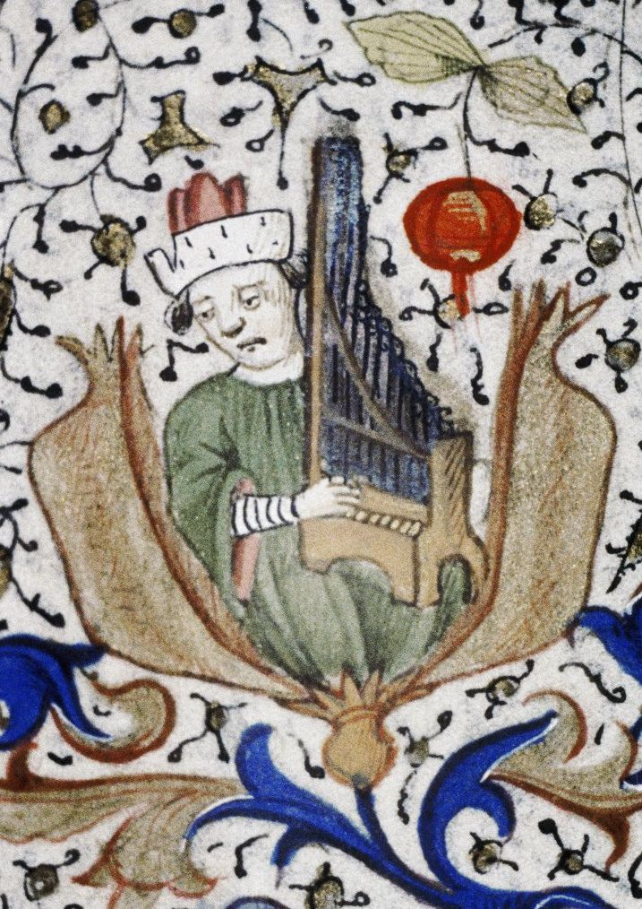 Bodleyan Library douce 77 frame 8
