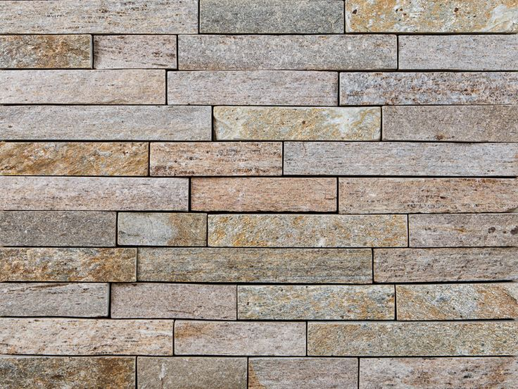 Colonial Tan Strips Is A Real All Natural Thin Stone Veneer That Has Been Sawn And Split For
