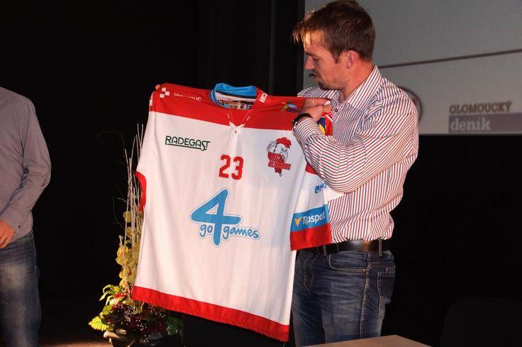 HC Olomouc 2015/16 jersey