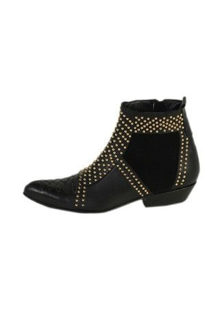 My new favorite designer from LA!  Sold at Elements in Dallas!  Must Have these boots with gold studs NOW!