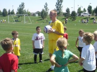 Coaching Youth Soccer U4 - U5 age groups