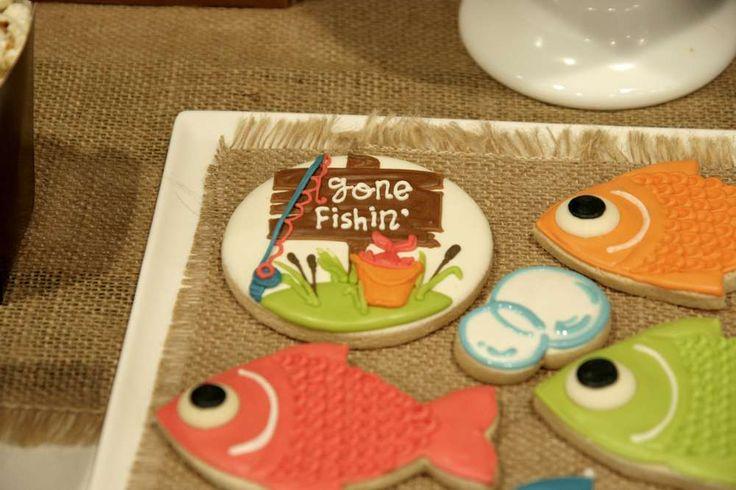 Gone Fishing Birthday | CatchMyParty.com