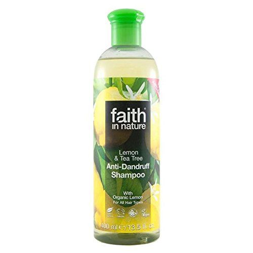 Faith in Nature AntiDandruff Lemon  Tea Tree Shampoo 400ml PACK OF 2 >>> Click image for more details.(This is an Amazon affiliate link and I receive a commission for the sales)