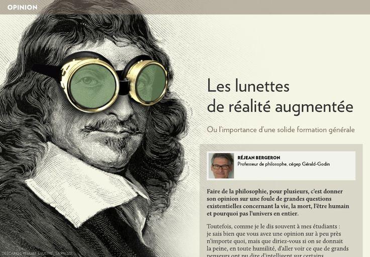 Les lunettes de réalité augmentée - La Presse+