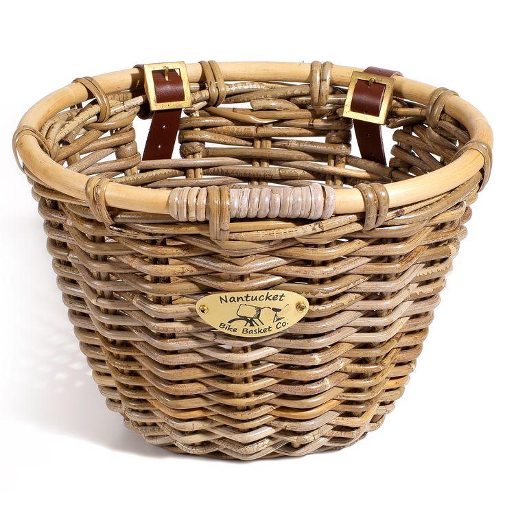 Nantucket Bicycle Basket Co. Classic Bicycle Basket
