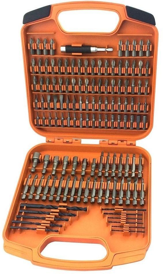 RIDGID Drill Bit and Drive Bits Bit Set 125 pc. Power Tool Accessories w/ Case | Home & Garden, Tools, Power Tools | eBay!