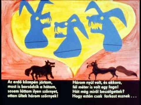 Zelk Zoltán: A három nyulak