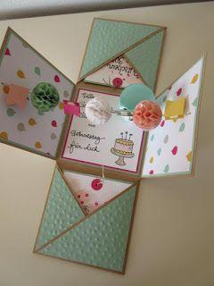 Zum Geburtstag einer lieben Freundin (huhu Steffi :-)) *CLICK* haben wir eine b