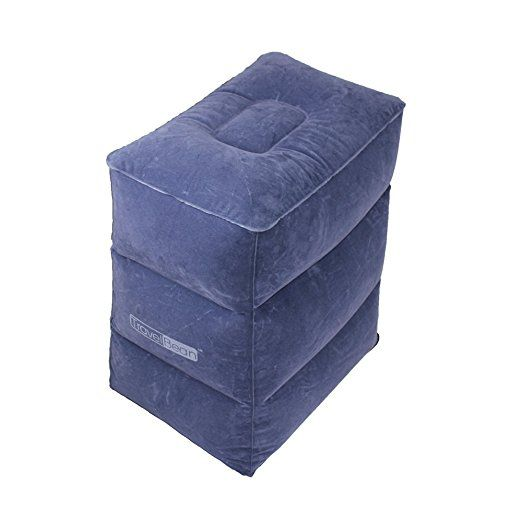 Inflatable Beds With Legs: Travel Pillow Inflatable Footrest, Leg Rest Travel Pillow