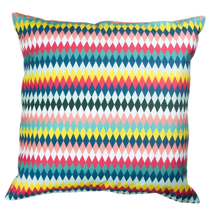 Colorful pattern cushion Gie El