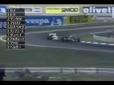 Cool ! ;-) Piquet vs Senna - Overtake 1, 1986 Hungary Grand Prix.
