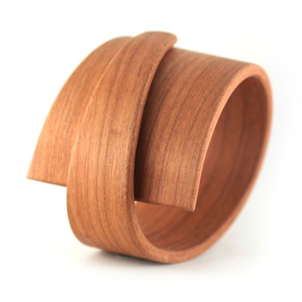 Different take of a wooden bangle