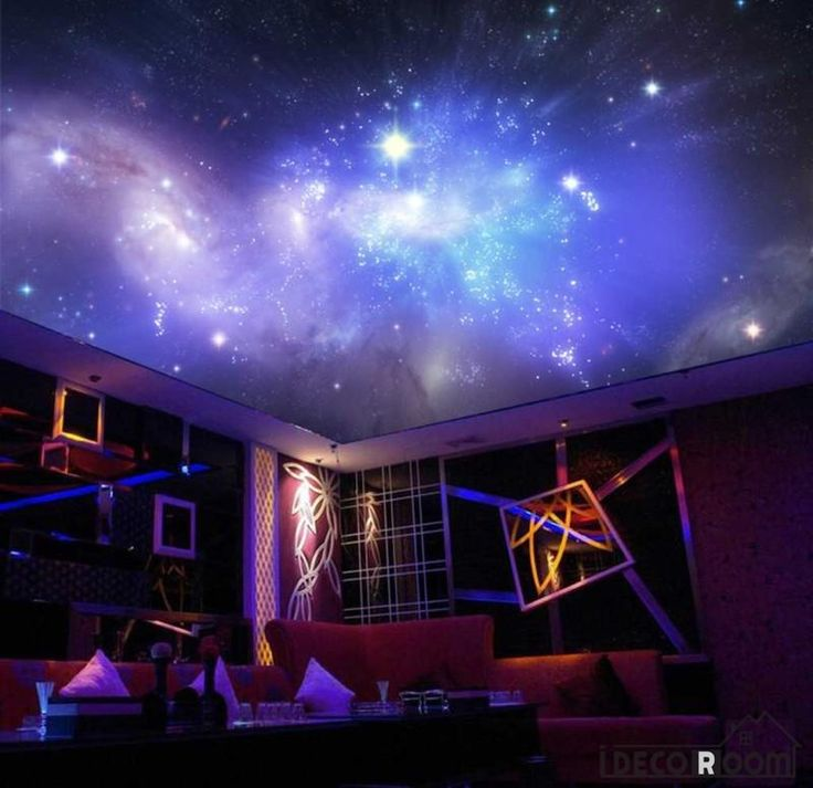 Poster Space Star Constellations Ktv Club Art Wall Murals Wallpaper Decals Prints Decor