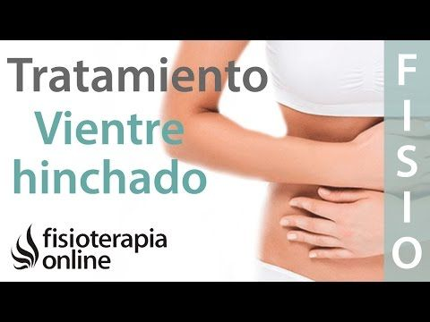 Tratamiento para dolor de espalda y dolor lumbar o lumbalgia provocado por colon irritable - YouTube