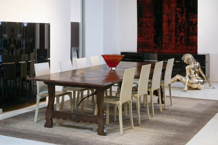 Best french oak dining table images on pinterest