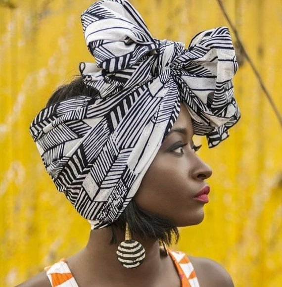 African Head Wrap, African Head Ties,