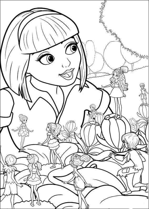 barbie elfinchen 9 ausmalbilder für kinder malvorlagen