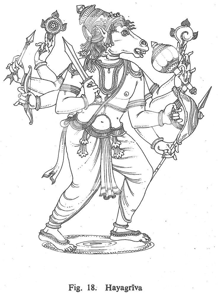 lord vishnu coloring pages - photo#21