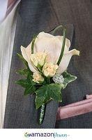 Boutonnieres, Wedding Flowers Online, Wedding Flower Arrangements, Wedding Bouquets | Amazonflowers.us $9.55