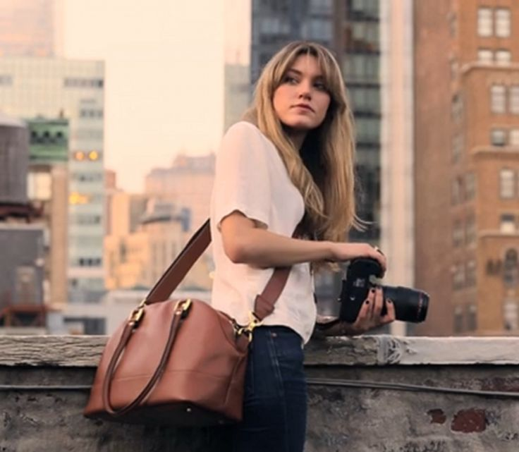 An absolutely gorgeous camera bag by ONA Bags. Unfortunately really expensive but it is made of Saffiano leather. Love it.