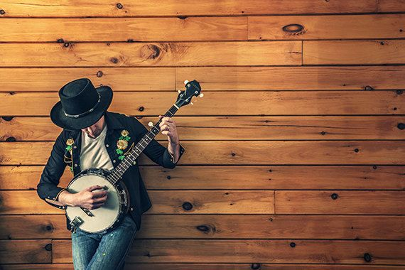 Unknown musician phography by artfuns on Etsy