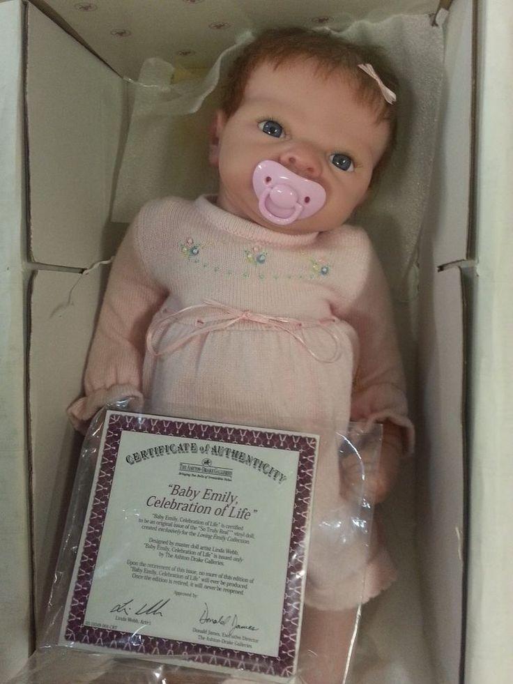 Ashton-Drake reborn Emily doll