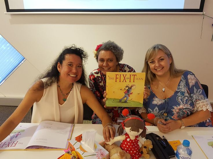 Today's special guest is Dimity Powell who will share her journey to create the picture book The Fix-it-Man.  I first met Dimity through an online writing group, where all the participants w…