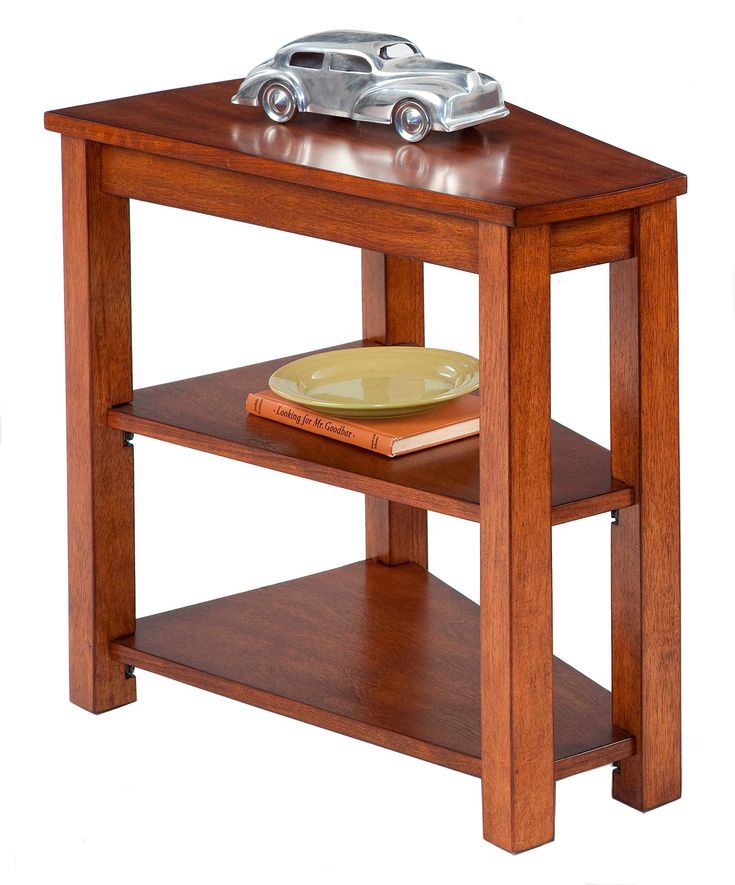 Best 25 Wedge End Table Ideas On Pinterest Triangle End