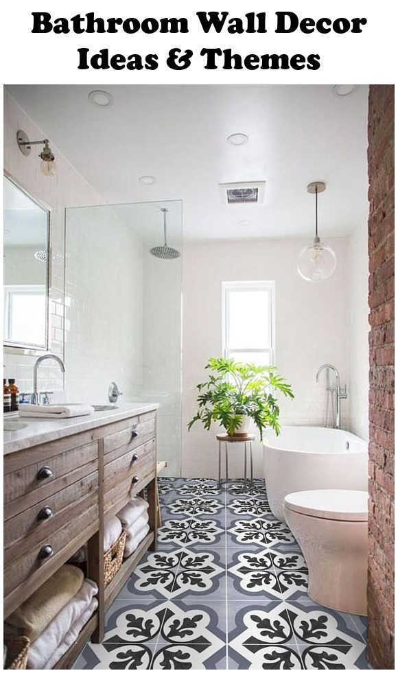 Simple And Beautiful Bathroom Decor Ideas For Your Next Bathroom Project Bathroom Remodel Vinyl Tile Farmhouse Bathroom Decor Bathroom Remodel Master
