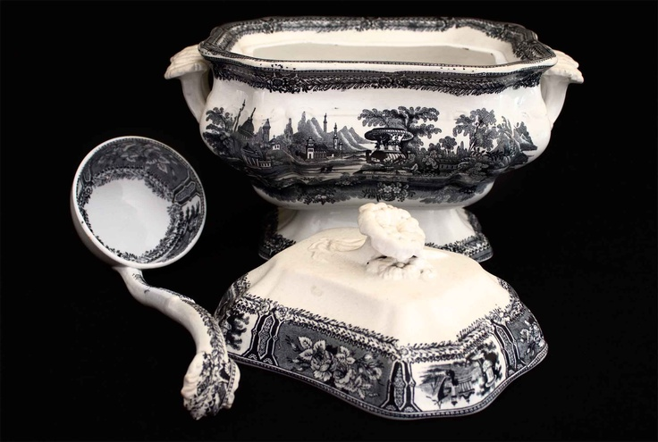 Real f brica de sargadelos 3 poca 1845 1862 - Ceramica de sargadelos ...