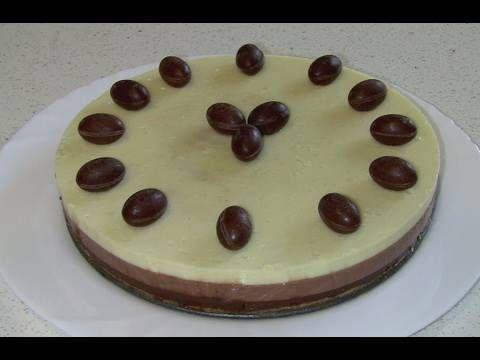 Tarta tres chocolates - YouTube