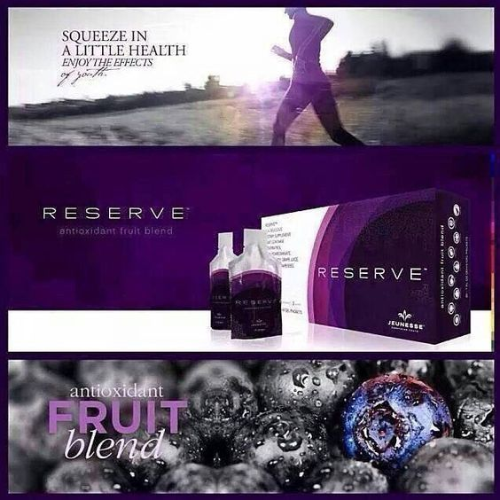 RESERVE contains the perfect blend of fruit and antioxidants!