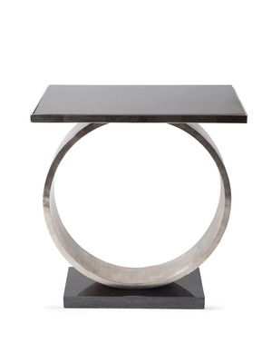 a standout piece!  Circle Accent Table by Global Views Direct Sourcing