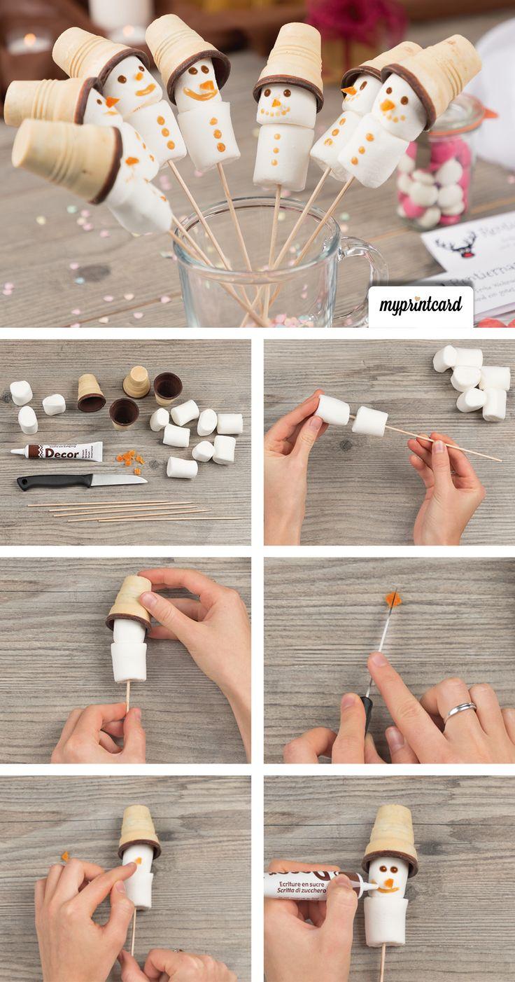 In dieser Bastelanleitung zeigen wir dir, wie du ganz einfach ein kleines Weihna… – Hochzeit: Basteln, Selbermachen & DIY
