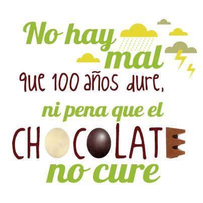 El chocolate cura las penas. http://llaollao.es/