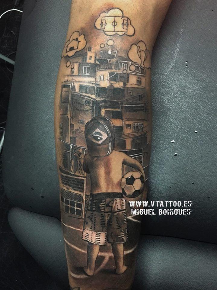 Nova tatuagem de Neymar