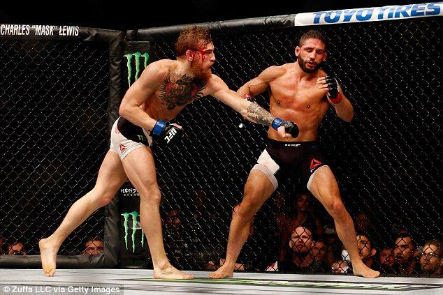 conor mcgregor knocking out aldo - Google Search