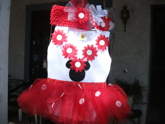 Minnie Mouse Inspired Tutu Set comes with matching by mapymorales, $23.00Beautiful Creationstutus, Tutu Sets, Beautiful Creations Tutus, Inspiration Tutu, Tutu Beautiful
