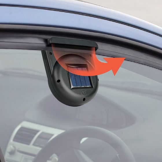 Solar Car Fan