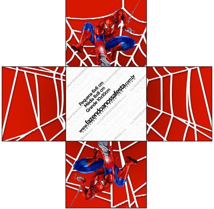 Forminhas Docinhos  Homem Aranha: