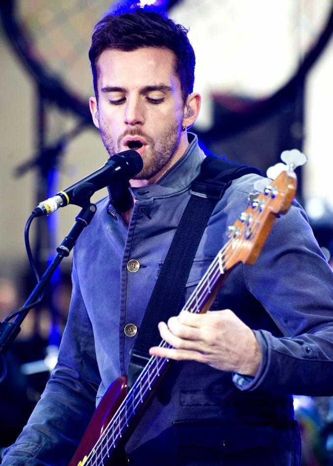Guy from Coldplay (Seriousley, his name is Guy!). *Sizzle* That's all than needs to be said. ;D