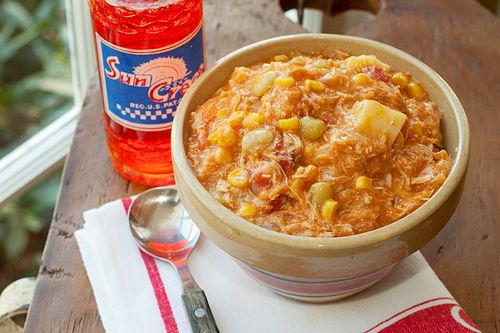 Brunswick Stew from @NevrEnoughThyme. I've often heard of it but the other recipes I've seen look a bit overwhelming. This looks super easy, even if it does have a lot of ingredients!