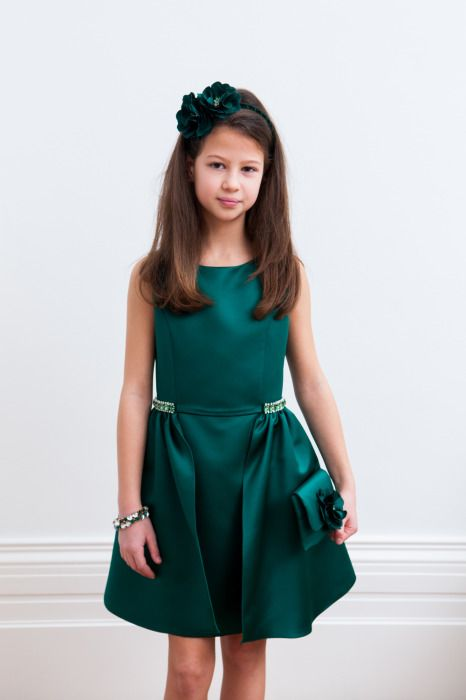 Girls Designer Dresses by David Charles. Autumn Winter 2015. 6yrs to 16yrs.