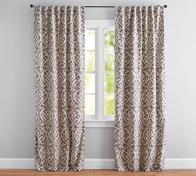 Bring A Finished Look To The Windows With Expertly Crafted Patterned Curtains From Pottery Barn Make Statement Classic Or Bold Pattern