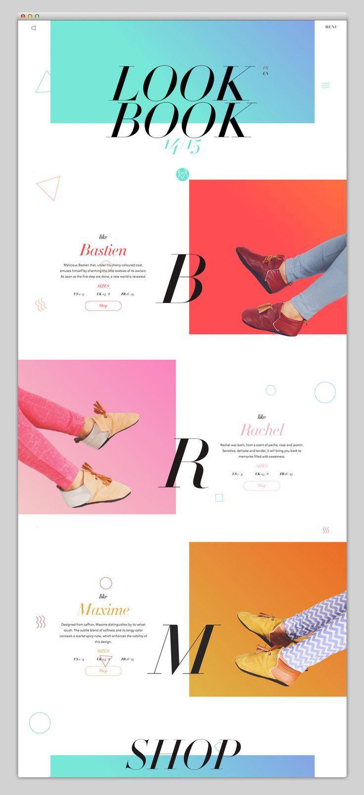 Ten beautiful minimalistic websites | ik ben ijsthee blog