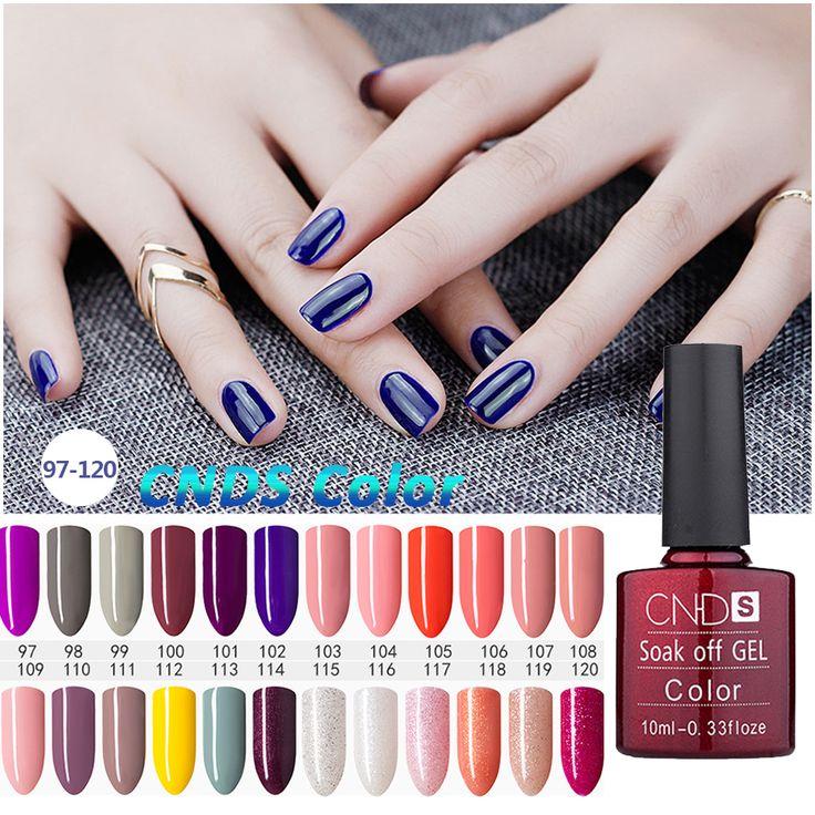 Nagelgelpoliermittel UV & LED Leuchtende Bunte 156 Farben 10 ML langlebige tränken weg Lack billige Maniküre